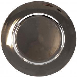 Ljusfat / Tallriksunderlägg Silver