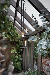 Ljushållare Hängande för rustikljus H70 cm