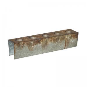 Ljushållare för zinklåda 48x9x10,5cm