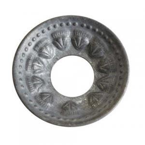 Ljusmanschett S grå Colette 6,5cm