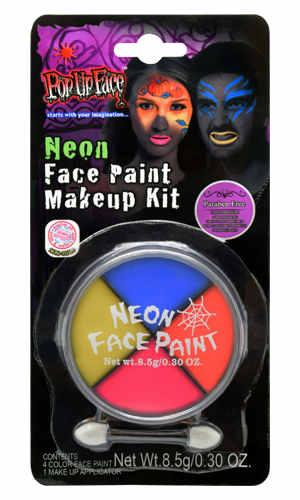 Makeup kit neon