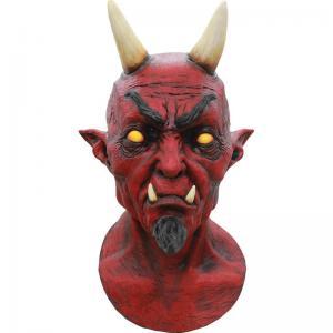 Mask djävul Lucifer heltäckande