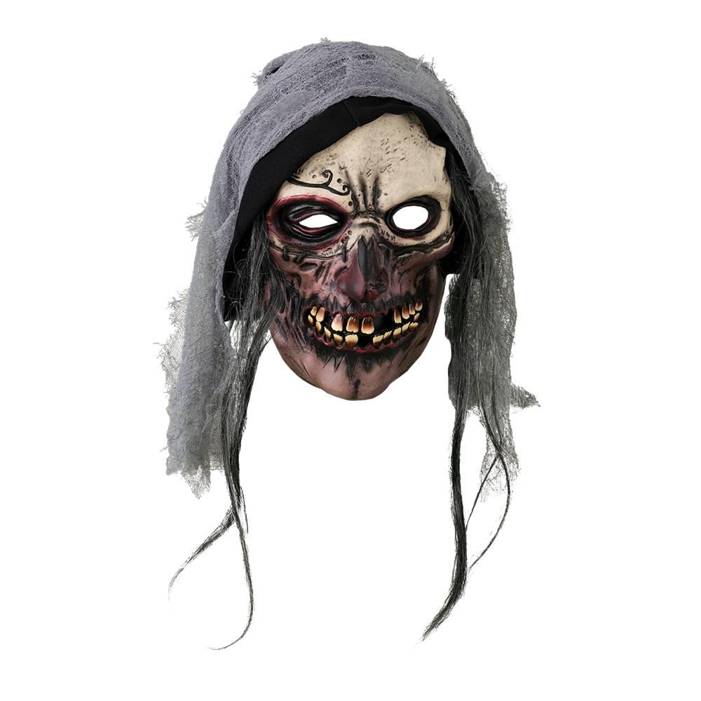 Mask döskalle med huva