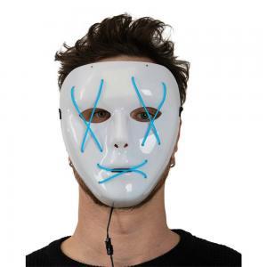 Mask Staty Blå LED