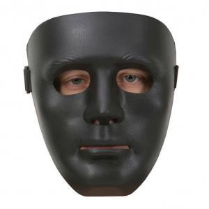 Mask staty plast Svart