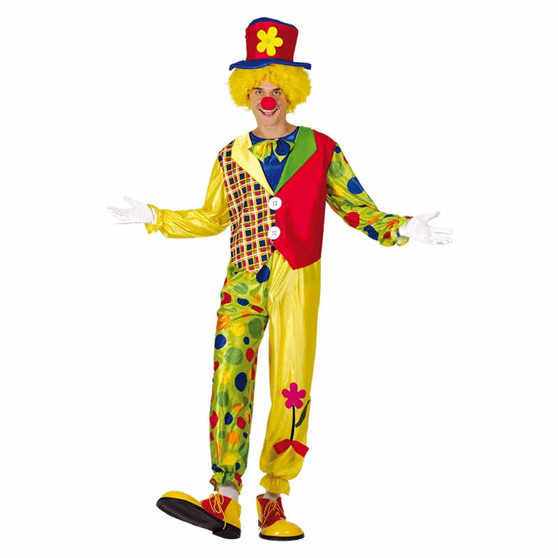 Clowndräkt Happy