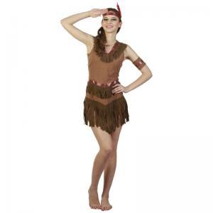 Maskeraddräkt Indian tjej