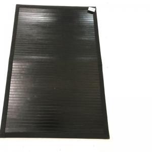 Matta Bamboo svart 90x60cm