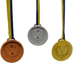 Medaljer 6-pack guld silver brons