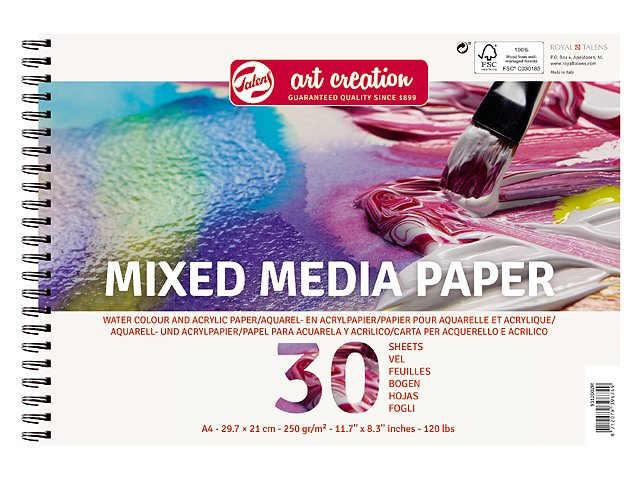 Block Mixed media A4 30blad