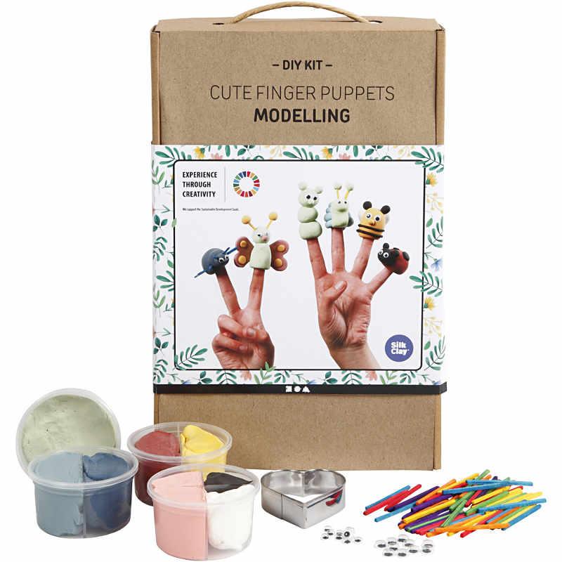 Söta fingerdockor, modellering