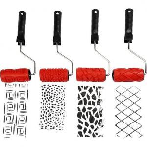 Mönsterrullar 4 olika mönster