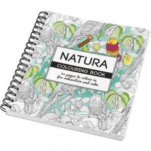 Natur Målarbok För Vuxna