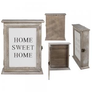 Nyckelskåp Home sweet home 20x26,6cm