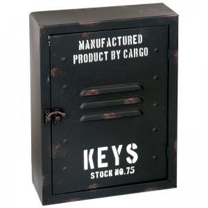 Nyckelskåp metall 30x23x9cm