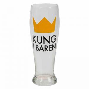 Ölglas Kung i baren