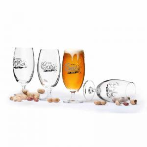 Ölglas med sjömansmotiv 4-pack