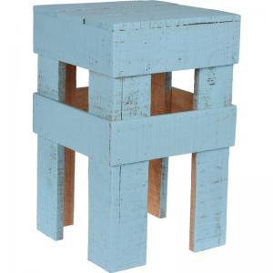 Pall trä Turkos H40cm