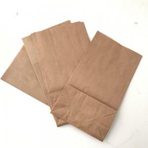 Papperspåse brun med botten