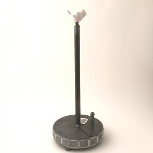 Pappersrullehållare Square fågel H40cm