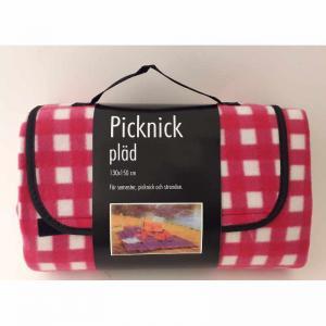 Picknick pläd 130x150cm grön