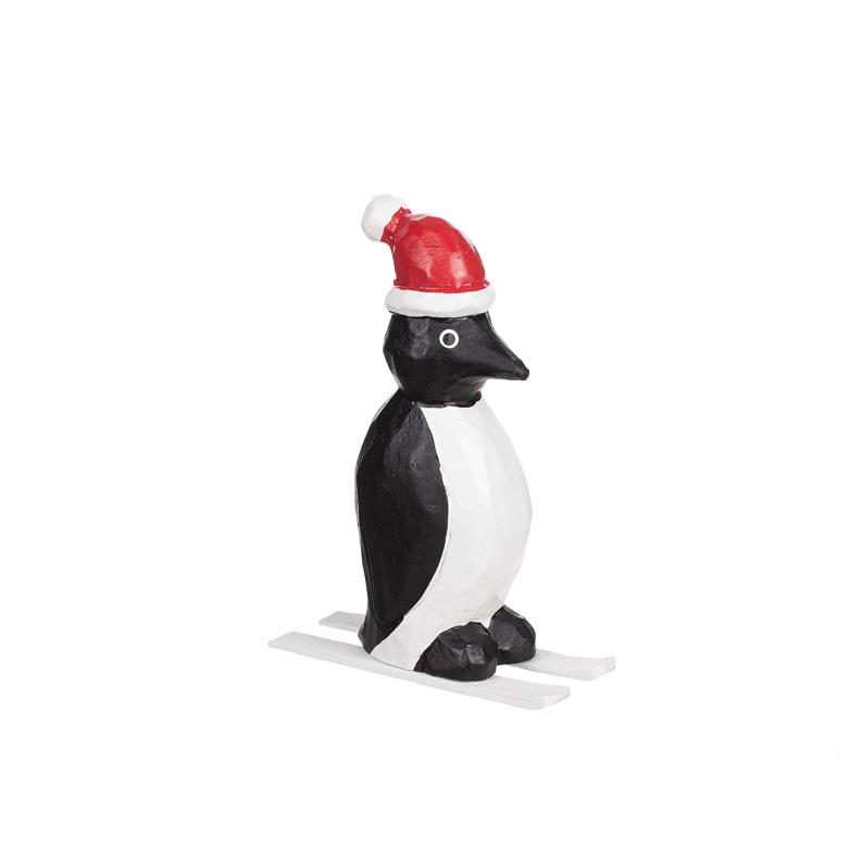 Pingvin trä på skidor 15cm