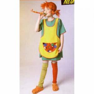 Pippi klänning med förkläde