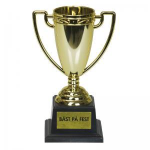 Pokal Guld Bäst På Fest