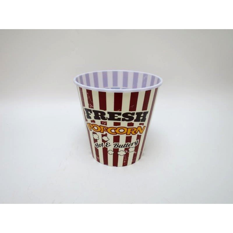 Popcornskål Plast 17x18cm