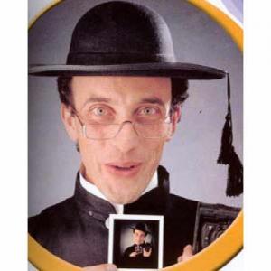 Prästhatt svart