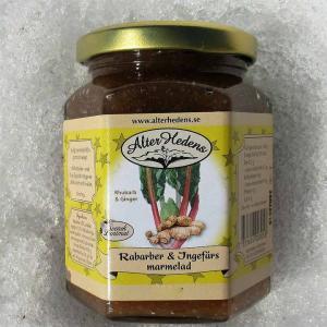 Rabarber&Ingefära marmelad 120g