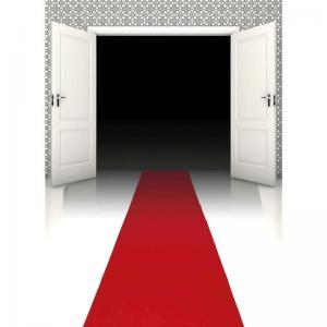Röda mattan 450x60cm
