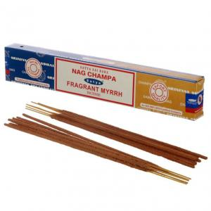 Rökelse Sataya Nag Champa & Fragrant Myrrh