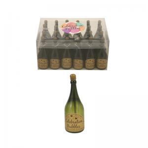 Såpbubblor champagneflaska