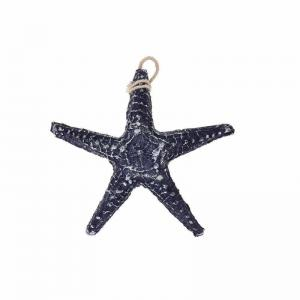 Sjöstjärna dekoration 13cm Blå