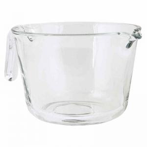Vispskål 1 l glas m handtag
