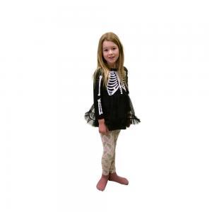 Skelettklänning barn