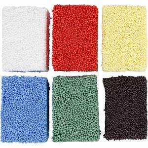 Soft foam 6x10g mixade färger