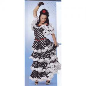 Spanjorska Evita klänning Stl 36-38