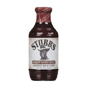 Stubbs BBQ-sås Smokey brown sugar 510g Glutenfri