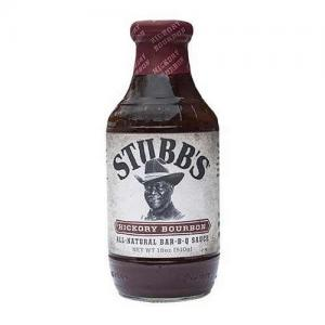 St BBQ-sås Hickory/Bourbon 510g glutenfri