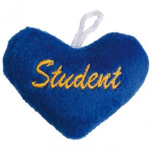 Studenthjärta Blått