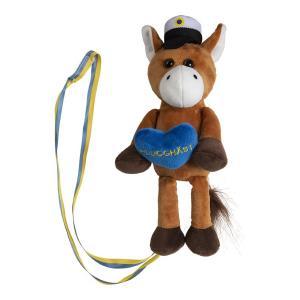 Studentnalle häst med hjärta H29cm