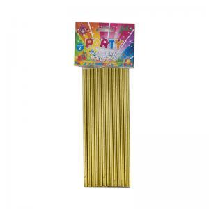 Sugrör Guld i papper 24pack