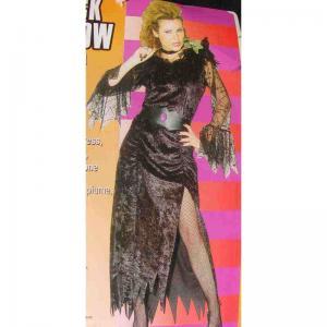 Svarta änkan klänning