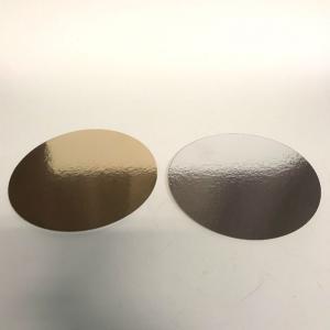Tårtbricka guld/silver diam 22cm