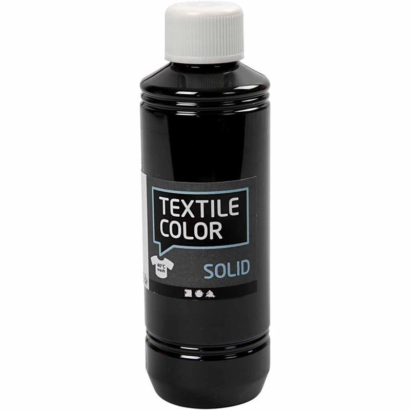 Textilfärg Svart 250ml