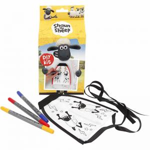 Shaun the Sheep Drakflygare 1 set blå gul röd