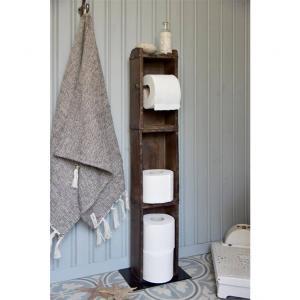 Toalettrullehållare murstensformar H83cm