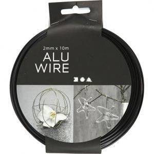 Tråd Aluminium 2mm x 10m